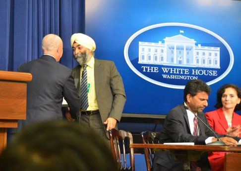 Amar Sawhney honored at White House with Two Awards